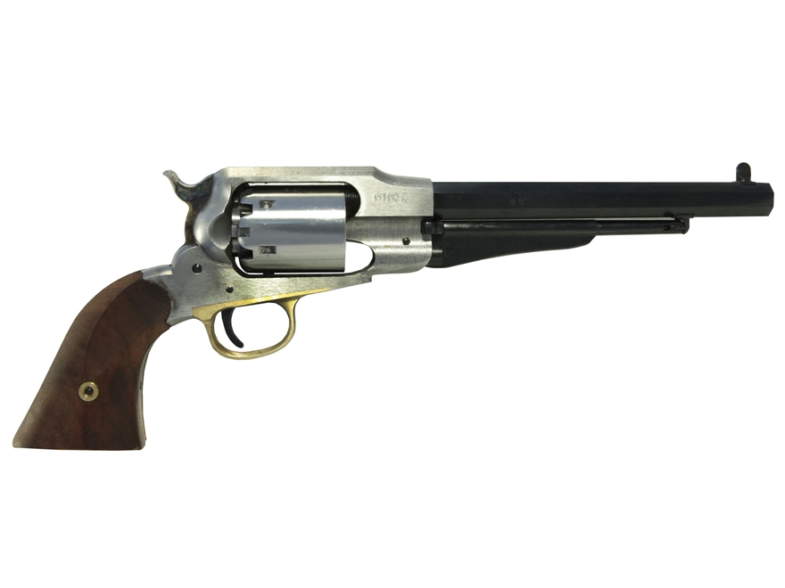 "Uberti 1858 Remington Black Powder Revolver Build-Your-Own Kit 44 Caliber 8"" Barrel Ste..."