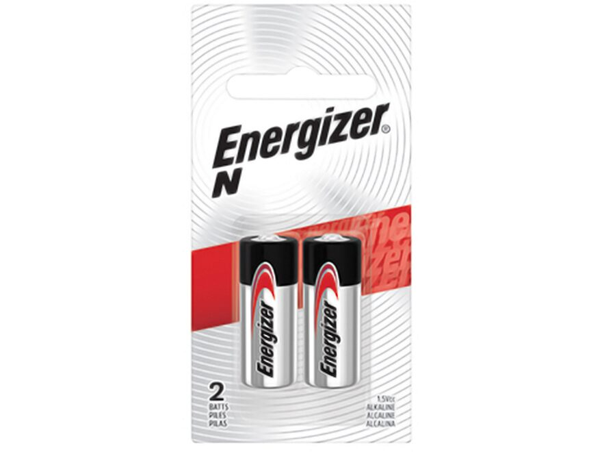 Energizer Battery N Max 1.5 Volt Alkaline Pack of 2