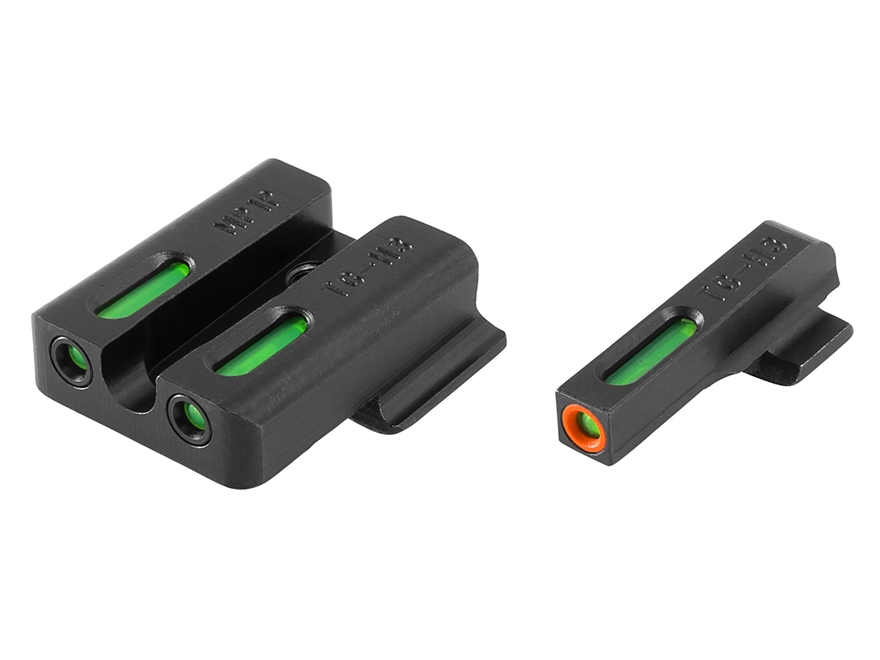 TRUGLO TFX Pro Sight Set Smith & Wesson M&P, M&P Shield, SD9, SD40 Tritium / Fiber Opti...