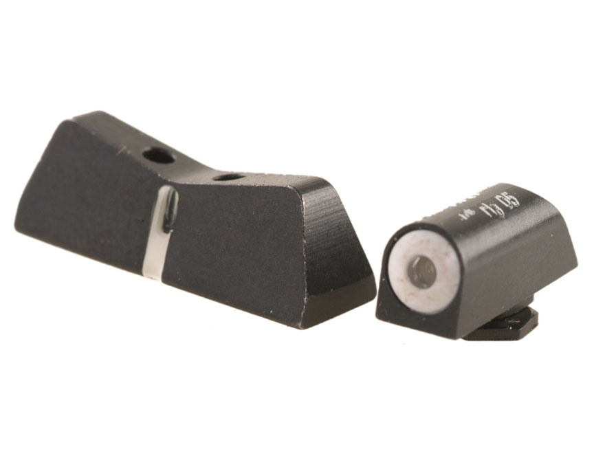 XS DXT Night Sight Set Glock 20, 21, 29, 30, 30S, 37, 41 Steel Matte Tritium