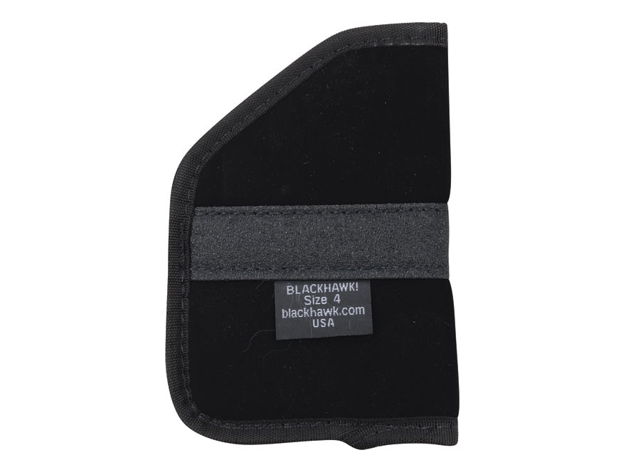 BLACKHAWK! Pocket Holster Ambidextrous Medium Frame Semi-Automatic 9mm Luger 4-Layer La...