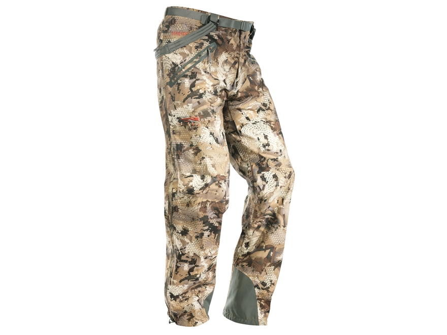Sitka Gear Men's Delta Waterproof Pants Polyester Gore Optifade Waterfowl Marsh Camo