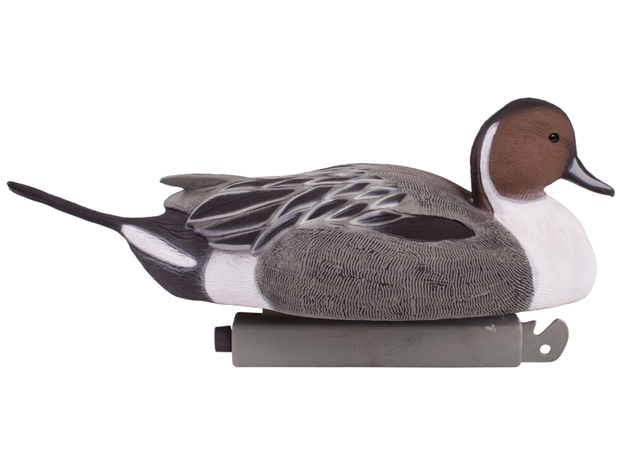 Tanglefree Pro Series Duck Decoy Weighted Keel Magnum Pintail Duck Decoy Pack of 6