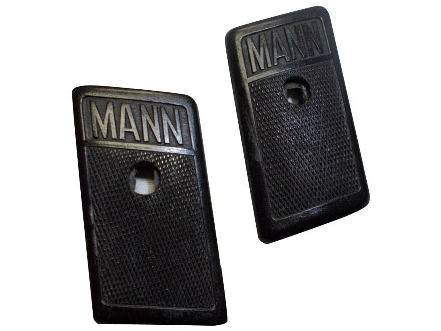 Vintage Gun Grips Mann 32 ACP Polymer Black