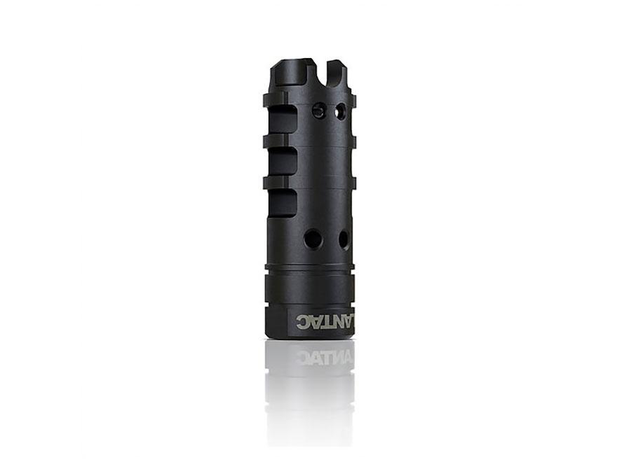 """LANTAC Dragon 9mm Muzzle Brake 1/2""""-28 Thread AR-15 Steel Nitride"""