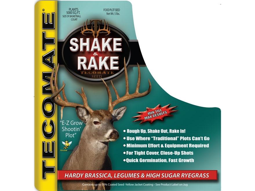 Tecomate Shake & Rake Annual Food Plot Seed 5 lb