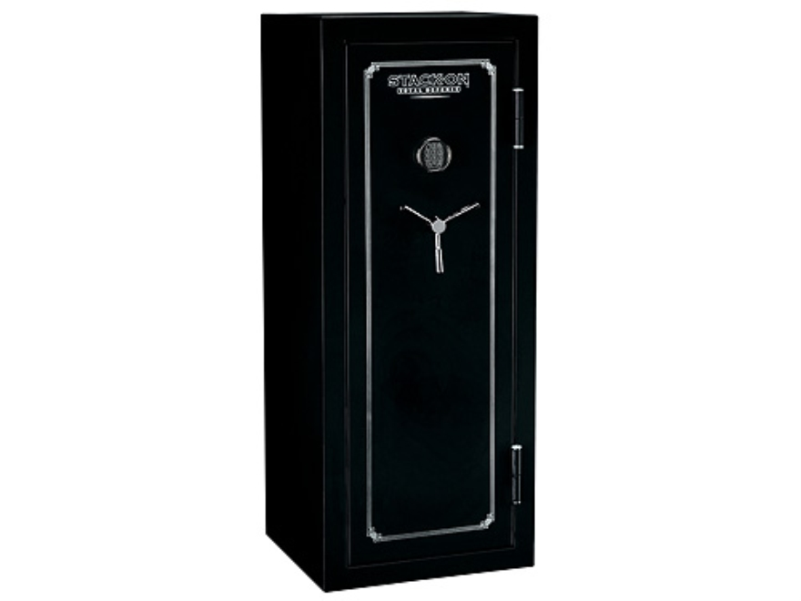 Stack-On Total Defense 14-Gun Fire-Resistant and Waterproof Safe with Electronic Lock &...