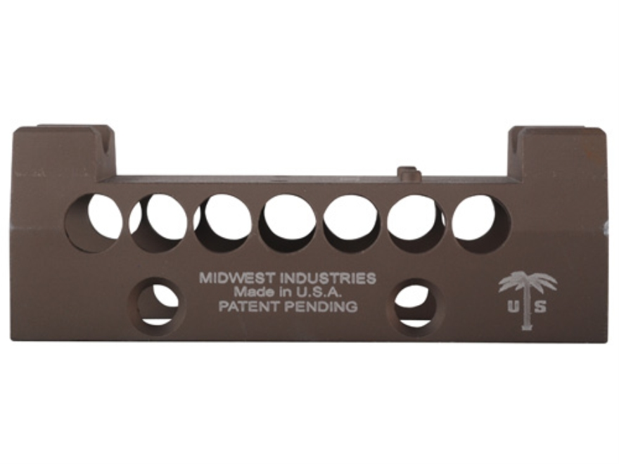 Midwest Industries US Palm AK-47, AK-74 Handguard Top Cover with Trijicon RMR Optic Mou...