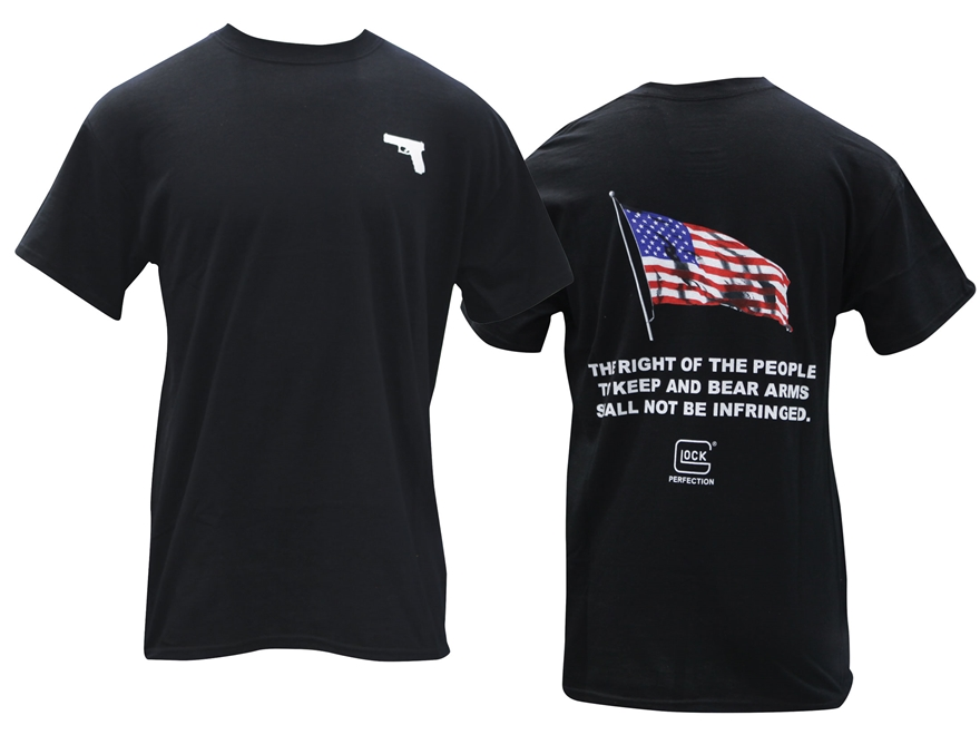 Glock Men's 2nd Amendment T-Shirt Short Sleeve