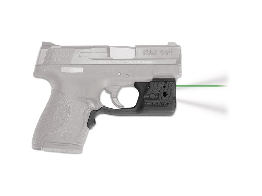 Crimson Trace Laserguard Pro Laser Sight S&W M&P Shield Polymer Black