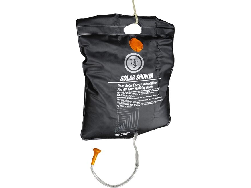UST Solar Shower Black