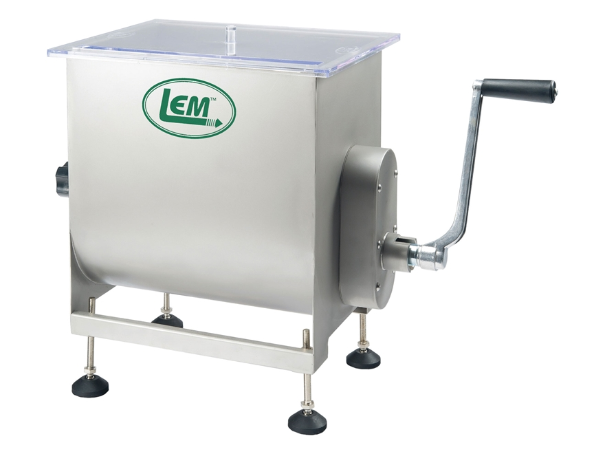 LEM 50 lb Meat Mixer Manual or Motorized Stainless Steel