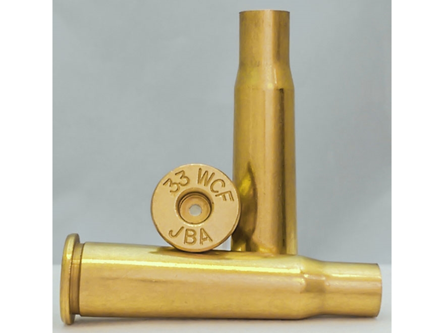 Jamison Reloading Brass 33 WCF Bag of 50