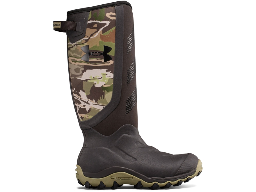 """Under Armour UA Hawgzilla 16"""" 800 Gram Insulated Waterproof Hunting Boots Rubber Men's"""