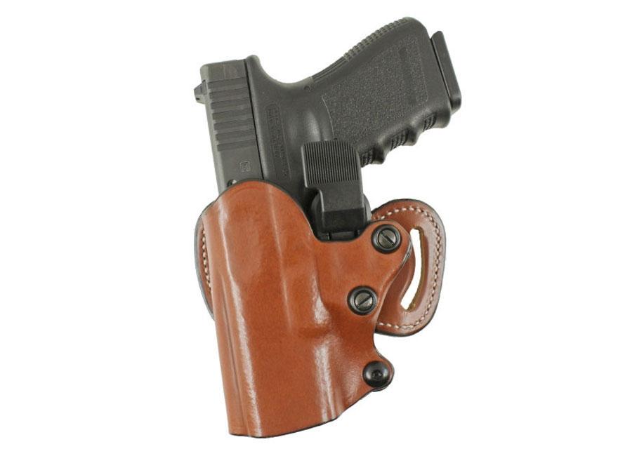 DeSantis Quick-Check Scabbard Belt Holster S&W M&P Shield Leather