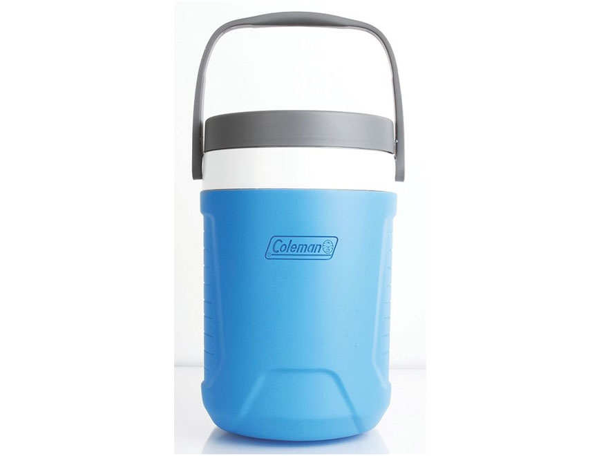 Coleman 1 Gallon Insulated Antimicrobial Water Jug Blue