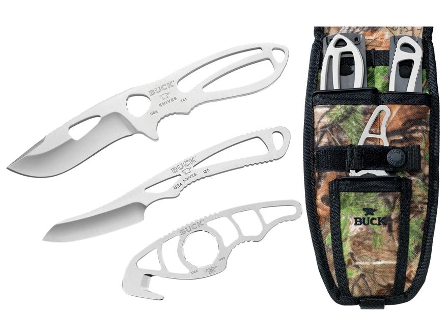 Buck 141 PakLite Field Master Hunting Knife Combo