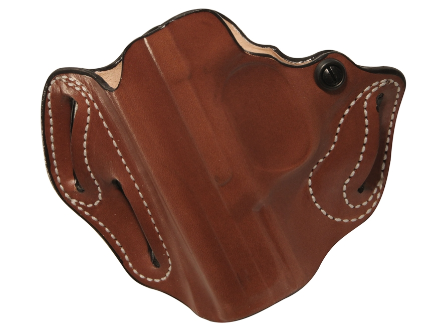 DeSantis Speed Scabbard Belt Holster FNH FNS Compact Leather