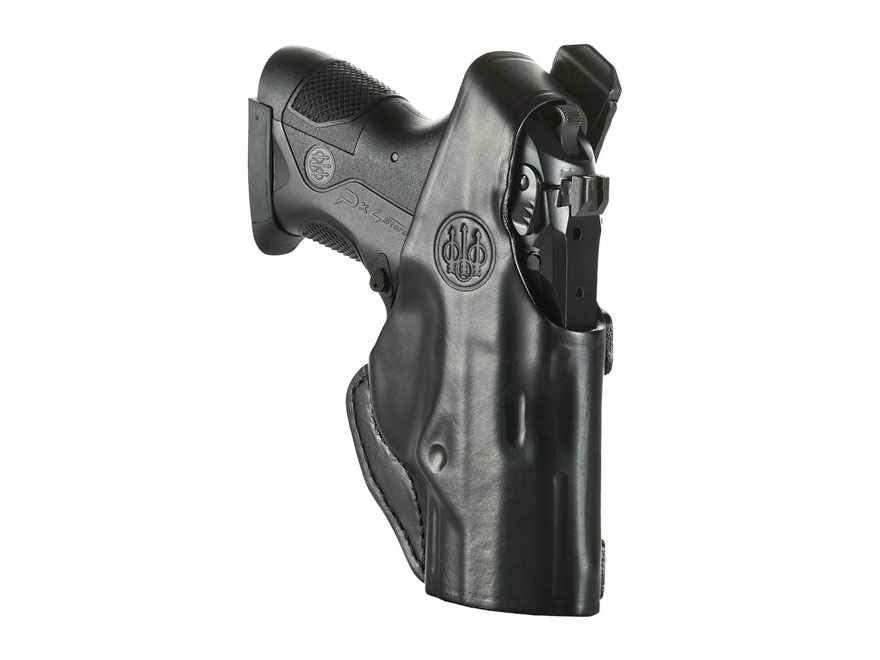Beretta Mod. 6 Belt Holster Right Hand PX4 Storm Sub-Compact Leather Black