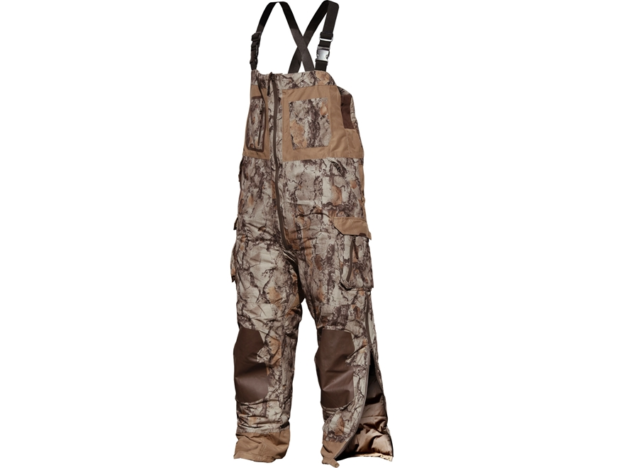 Natural Gear Ultimate Waterfowler Bibs Polyester Natural Camo