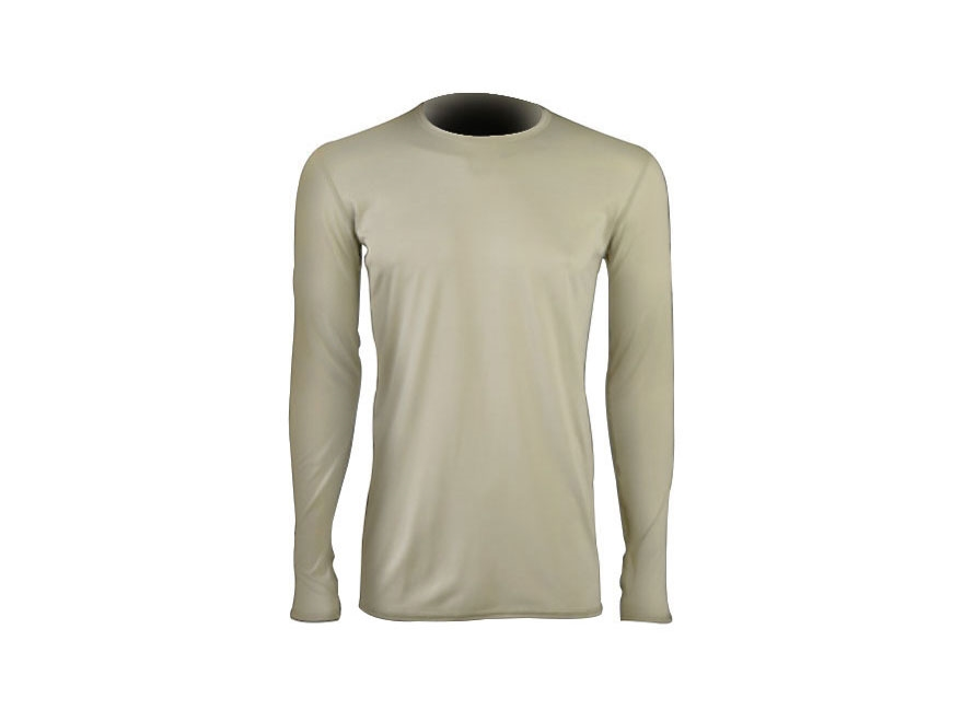 Military Surplus Gen III Level 1 Silk-Weight Base Layer Shirt Sand
