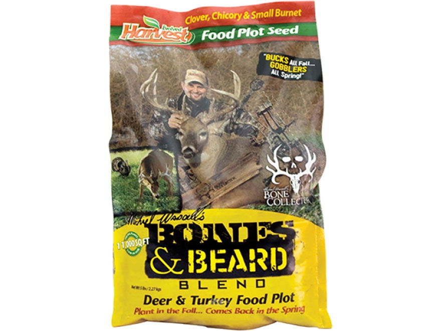 Evolved Harvest Bones & Beard Blend Food Plot Seed 5 lb Bag