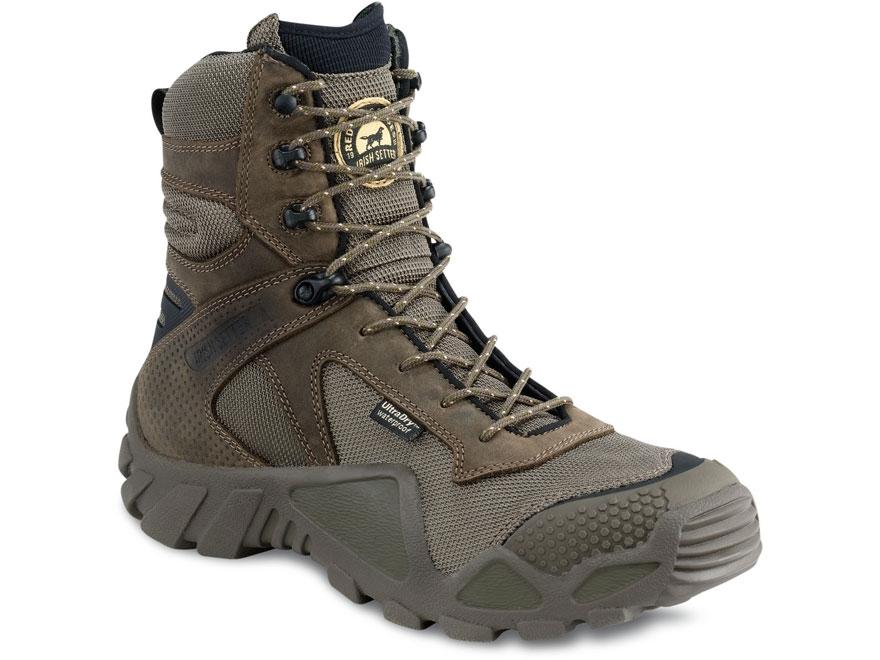 "Irish Setter Vaprtrek 8"" Waterproof Hunting Boots Nylon and Leather Men's"