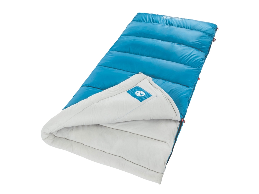 Coleman Autumn Glen 30 Degree Sleeping Bag Polyester Blue