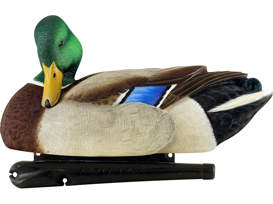 Avian-X Top Flight Preener/Rester Mallard Duck Decoy Pack of 6