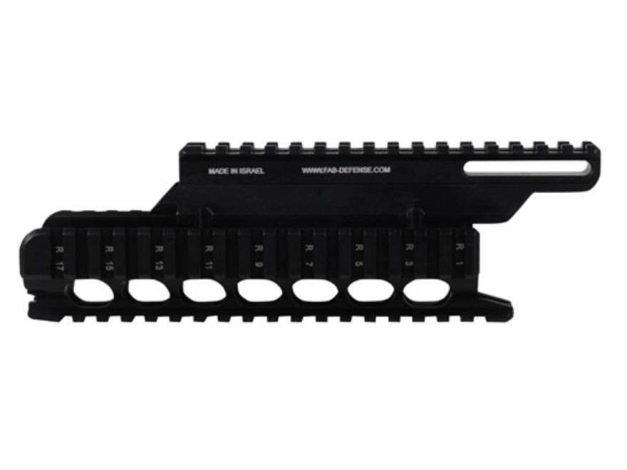 FAB Defense VFR 2-Piece Handguard Quad Rail VZ-58 Aluminum Black