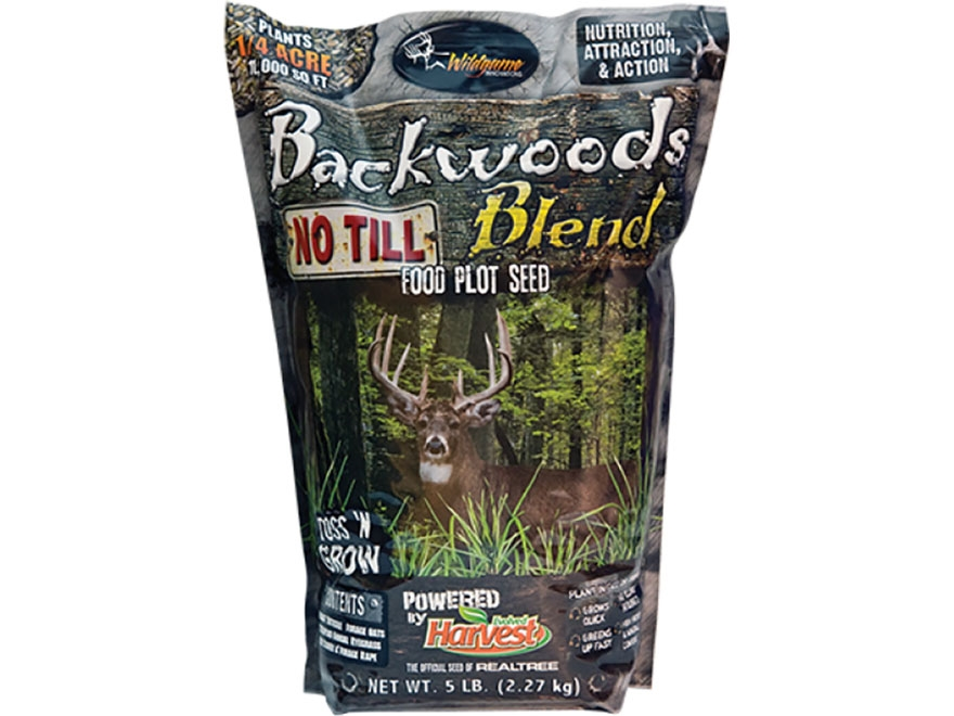 Wildgame Innovations Backwoods Blend No-Till Food Plot Seed 5 lb