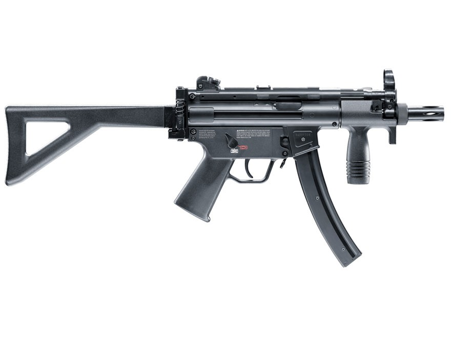 HK MP5k-PDW CO2 Air Rifle 177 Caliber BB Black