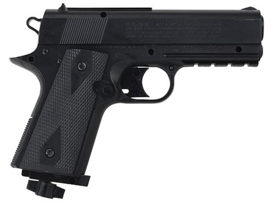 Daisy Powerline 15XT Air Pistol 177 Caliber BB Black Polymer Grips Matte