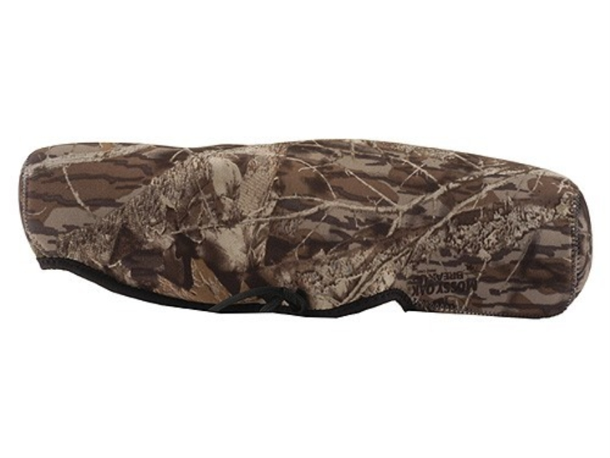 CrossTac Spotting Scope Cover Medium Straight Body Neoprene Reversible Black, Mossy Oak...