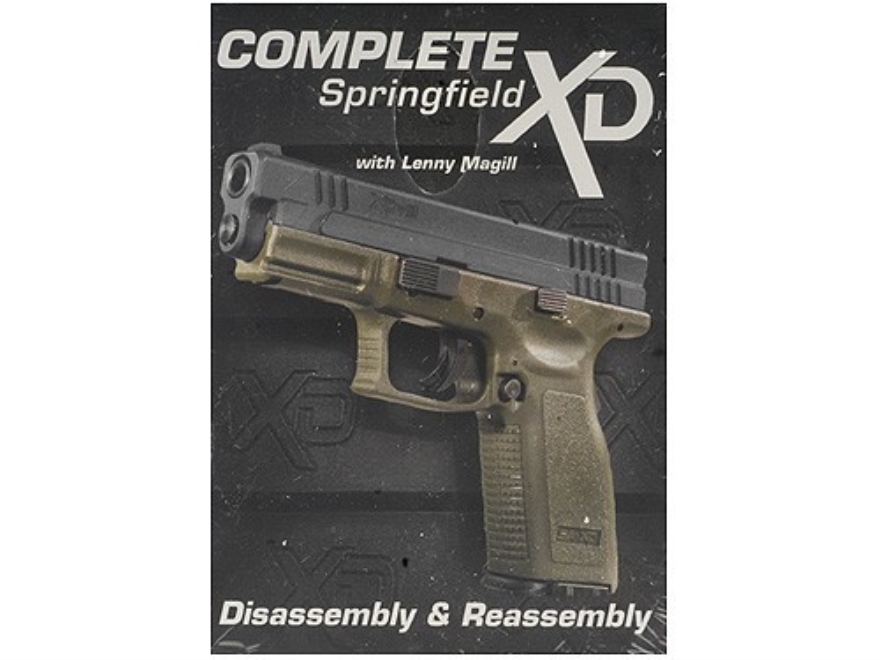"Gun Video ""Complete Disassembly & Reassembly: Springfield XD"" DVD"