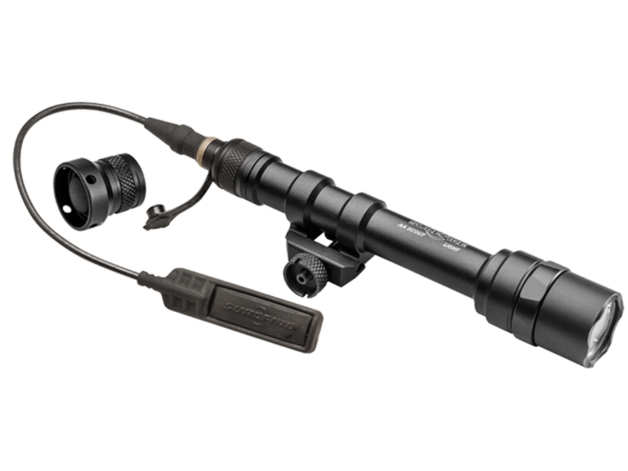 Surefire M600AA Scout Light Weapon Light with Remote Switch LED with 2 AA Batteries Alu...