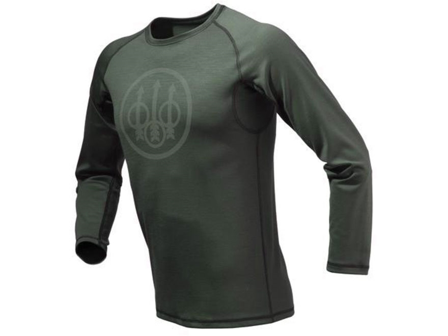 Beretta Men's X-Warm Base Layer Shirt Long Sleeve Merino Wool