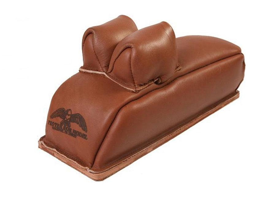 Protektor Rabbit Ear Loaf Rear Shooting Rest Bag Leather Tan Filled