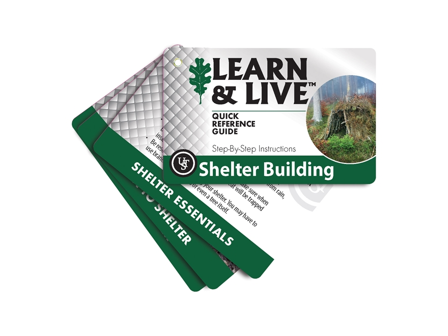 UST Learn & Live Shelter Building Cards