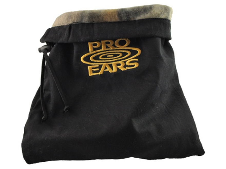Pro Ears Custom Earmuff and Hearing Protection Carry Bag Twill Black