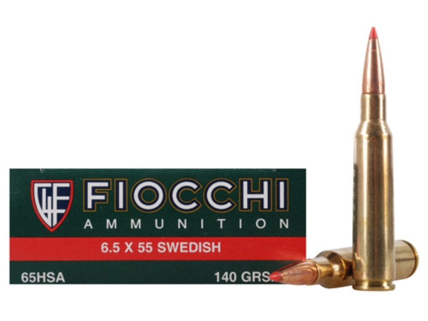 Fiocchi Extrema Ammunition 6.5x55mm Swedish Mauser 140 Grain Hornady SST Polymer Tip Bo...