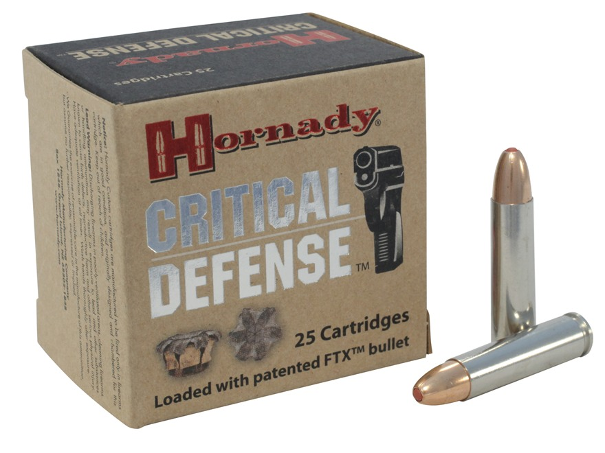 Hornady Critical Defense Ammunition 30 Carbine 110 Grain Flex Tip eXpanding Box of 25