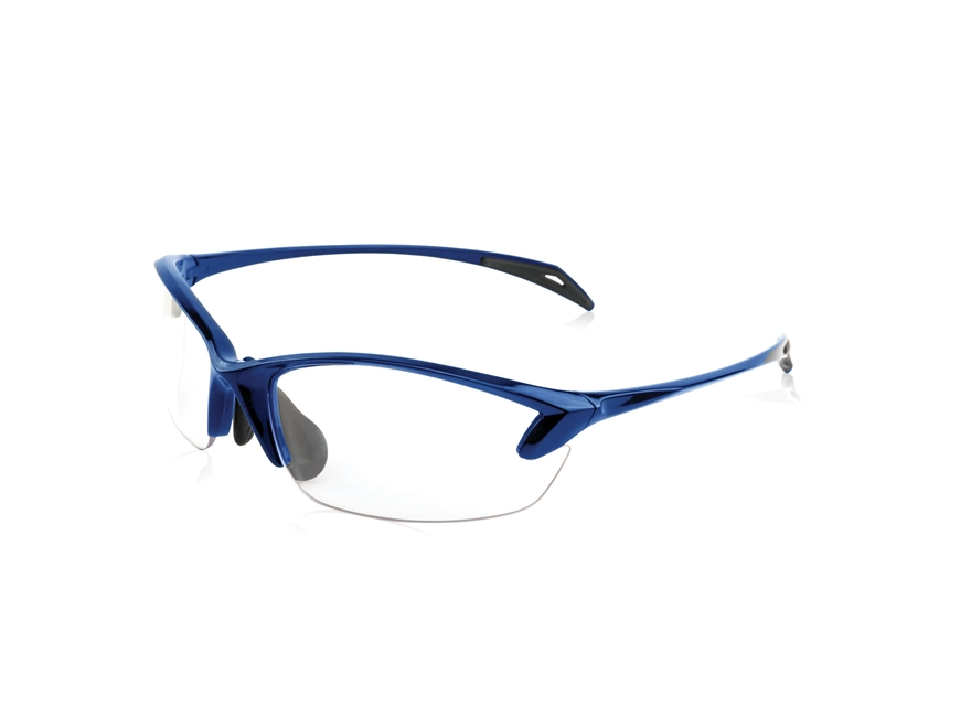 Smith & Wesson Colonel Women's Shooting Glasses Blue Frame Clear Lens