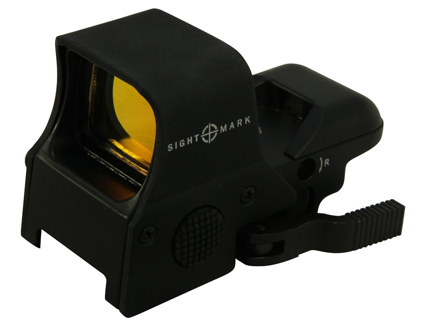 Sightmark Ultra Shot Red Dot Sight 30mm Tube 1x QD Digital Switch 4 Pattern (Dot, Cross...