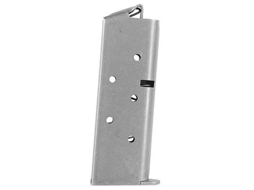 Colt Magazine Colt Mustang Pocketlite 380 ACP 6-Round Stainless Steel