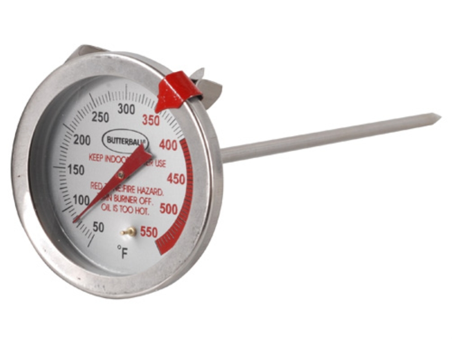 "Butterball 6"" Meat Thermometer Stainless Steel"