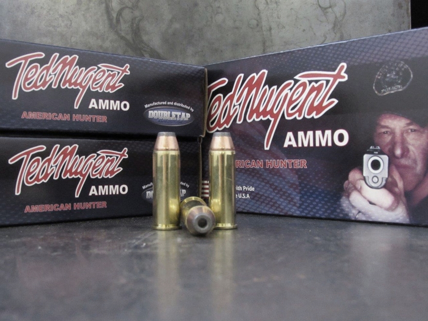 Doubletap Ted Nugent Ammunition 44 Remington Magnum 180 Grain Sierra Jacketed Hollow Po...