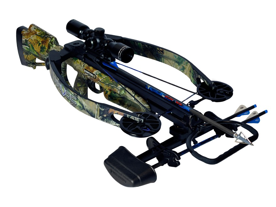 Horton Havoc 150 Crossbow Package with 4x 32mm Mult-A-Range Crossbow Scope Realtree APG...