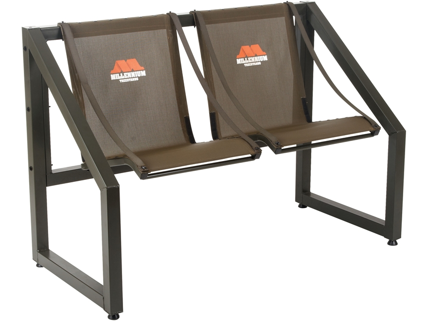 Millennium B2X2 2-Person Steel Bench