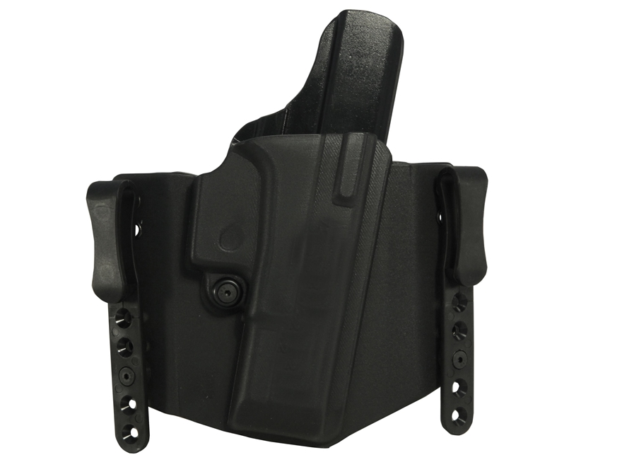 "Comp-Tac FlatLine Convertible Belt and Inside the Waistband Holster 1.75"" Belt Clips Ri..."